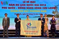 Clôture de l'Année nationale du tourisme 2016 - Phu Quôc-Delta du Mékong