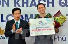 Le Vietnam accueille son 10 millionième touriste étranger