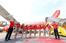 Aviation : 5.000.000 billets à 5.000 dông chez Vietjet Air