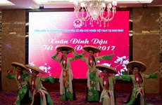 Les Vietnamiens à Nanning saluent le Têt traditionnel du Coq 2017