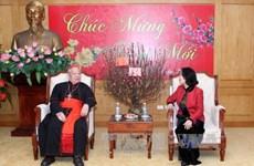 L'Archevêché de Hanoï se rend à la Commission de sensibilisation auprès des masses du Parti
