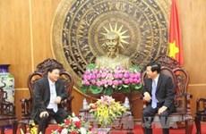 Les fonctionnaires cambodgiens formulent leurs voeux aux habitants de Long An
