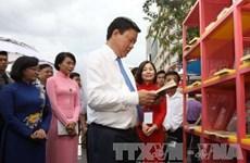 Ouverture du Festival du livre du Têt du Coq à Hô Chi Minh-Ville