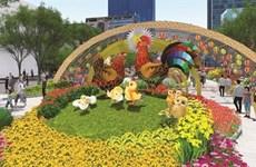À Hô Chi Minh-Ville, la rue florale Nguyên Huê sera ouverte jusqu'au 1er février
