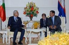 Le Cambodge et le Myanmar s'engagent à renforcer leur coopération