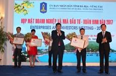 Bà Ria - Vung Tàu attire 8 nouveaux projets d'investissement au début de l'année