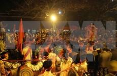 Ouverture de la Fête du Temple des rois Trân à Nam Dinh