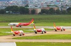 Chiffres d'affaires de 27.532 milliards de dôngs en 2016 pour Vietjet Air