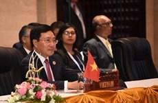Le Vietnam à la réunion restreinte des ministres des Affaires étrangères de l'ASEAN aux Philippines