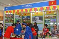 Des élèves vietnamiens au Festival international culturel et linguistique au Cambodge