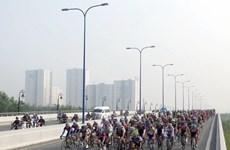 Neuf équipes étrangères à la course cycliste de Binh Duong