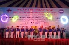 La 20e Fête de la Francophonie s'ouvre dans le delta du Mékong