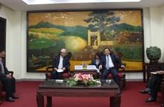 Vietnam et Népal veulent partager leurs expériences dans la gestion foncière