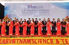 Afflux d'IDE dans la production de panneaux solaires à Bac Giang
