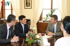 La République tchèque salue la prochaine visite de la Présidente de l'AN