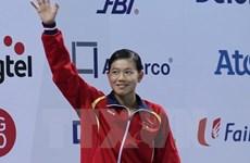 Une nageuse vietnamienne gagne l'or avec un nouveau record asiatique
