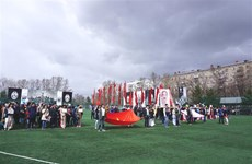 Jeux sportifs des étudiants vietnamiens en Russie