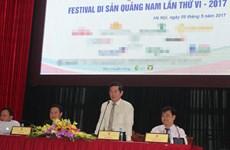De nombreuses nouvelles activités au Festival des patrimoines de Quang Nam 2017