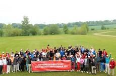 Près de 100 golfeurs au tournoi d'amitié Allemagne-Vietnam