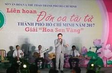 Ouverture du Festival «don ca tài tu» de Hô Chi Minh-Ville