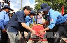 Rapatriement des restes de soldats volontaires vietnamiens au Cambodge