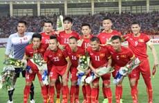 Le Vietnam gagne cinq places dans le classement FIFA
