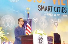 Vietnam - États-Unis: Coopération dans le développement des villes intelligentes