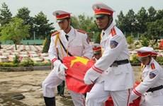 Rapatriement des restes de soldats et experts volontaires vietnamiens tombés au Cambodge