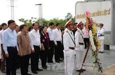 La présidente de l'AN rend hommage aux héros morts pour la Patrie à Quang Nam