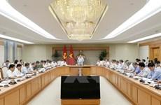 Le vice-Premier ministre Vuong Dinh Hue demande l'examen des districts pauvres