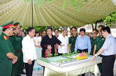 Hoa Binh louée pour la conservation du site lié au Parti populaire révolutionnaire lao