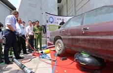 Une expo sur la prévention et la lutte contre les incendies à Hô Chi Minh-Ville