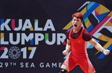 La délégation sportive vietnamienne maintient sa 3ème place aux SEA Games 29