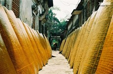 Cu Dà, un village de métier traditionnel de miên dong à Hanoï