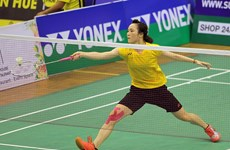 Badminton : fin du tournoi international Yonex-Sunrise Vietnam Open 2017