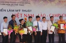 Exposition des Beaux-arts Vietnam-Laos-Cambodge