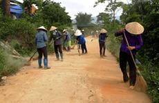 """Lancement de la campagne """"Rendre le monde plus propre"""" à Hoa Binh"""