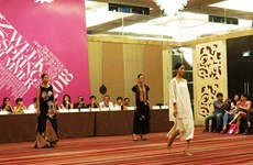 Semaine de la mode printemps-été 2018 : le textile artisanal à l'honneur à Hanoï
