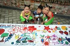 «Je dessine le futur» : Fête de la mi-automne pour les enfants handicapés