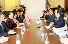 Le Vietnam renforce sa coopération législative la République de Corée