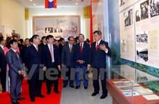 Une exposition pour marquer les relations Vietnam-Laos
