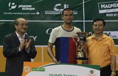 Clôture du tournoi international de tennis Hung Thinh Vietnam Open 2017