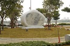 Installation de statues des économies membres de l'APEC à Dà Nang