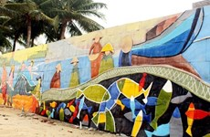 L'art de rue anime la semaine de l'APEC 2017