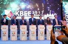 Ouverture de la foire Korea Brand & Entertainment 2017 à Hô Chi Minh-Ville