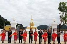 Inauguration d'un mémorial de l'alliance armée Vietnam-Laos à Xaysomboun