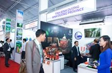 Exposition des produits de Minh Long dans le cadre de la Semaine de l'APEC 2017