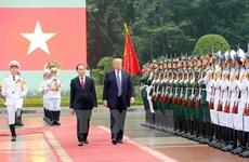 Le président américain Donald Trump en visite d'Etat au Vietnam