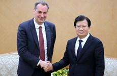 Promouvoir la coopération entre les entreprises vietnamiennes et allemandes