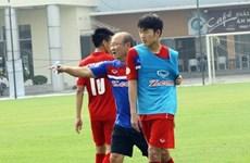 Park Hang Seo planifie les préparatifs de la finale du championnat U23 d'Asie